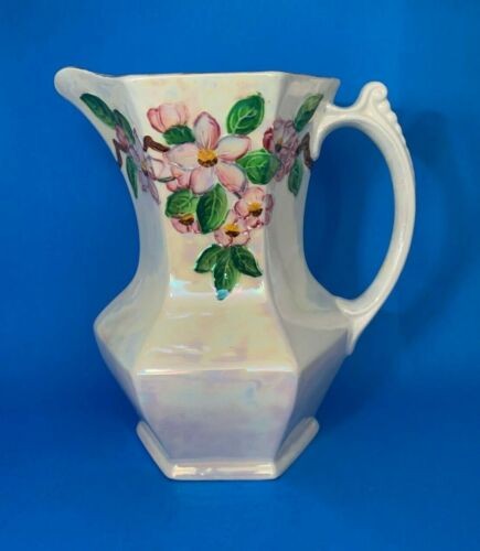 Vintage Ringtons Ltd Newcastle On-Tyne Lustre Iridescent Pitcher Jug