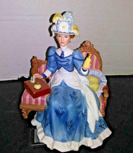 Avon 1992 Porcelain Mrs Albee on Loveseat President