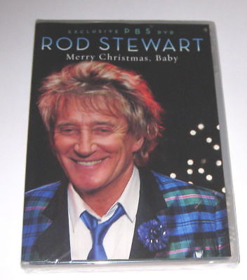 - ROD STEWART: MERRY CHRISTMAS BABY DVD, VERY RARE PBS SPECIAL, 2012 +MARY J BLIGE