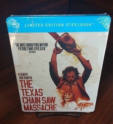 Supernatural Halloween Movies (The Texas Chainsaw Massacre STEELBOOK (Blu-ray) NEW-Free Box SHIPPING)