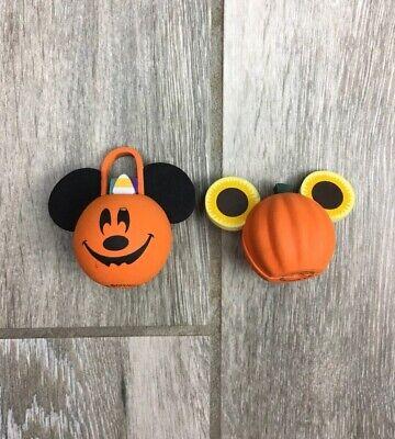 Lot Walt Disney Car Antenna Toppers Mickey Mouse Halloween Pumpkin Basket Park](Peck Park Halloween)