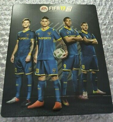 FIFA 17 -  limited edition - Preorder Steelbook - G2 - PS4 - NO GAME for sale  Shipping to Nigeria