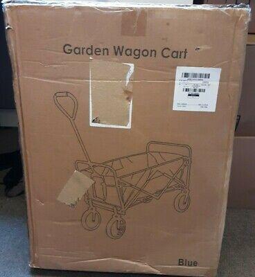 Mac Sports Folding Steel Frame Outdoor Garden Utility Wagon