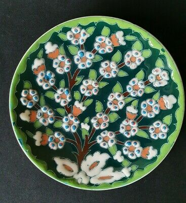 Turkish Sulser Cini Decorative Plate