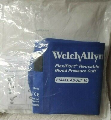 Welch Allyn Small Adult Size 10 Flexiport Reuseable Blood Pressure Cuff Reuse-10