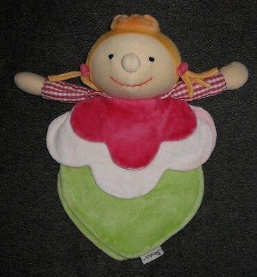 Sterntaler Mädchen Fee Prinzessin rosa Kuscheltuch Schmusetuch Schnuffeltuch