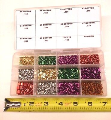 Bottom Pin Rekey Kit For Schlage Locks. 100 Pieces Ea Size Locksmith Lock Pins
