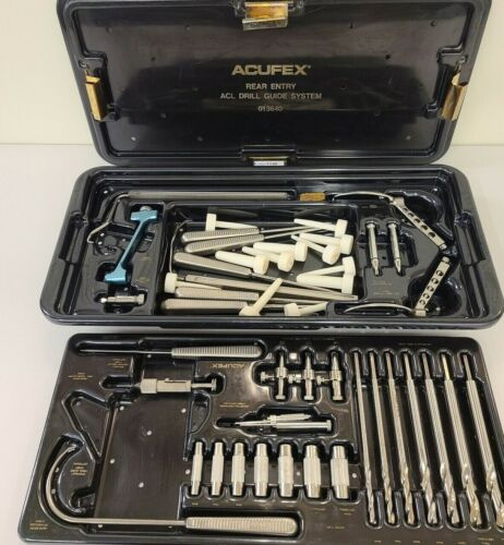 Acuflex Rear Entry ACL Drill Guide System with Case as Shown Inv 1126 A6e