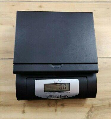 Weigh Max 55lb Digital Postal Scale W-4819 Black Shipping Scale