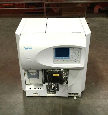 Sysmex Xe-5000 Automated Hematology Analyzer 117v 550va 5060 Hz Powers On