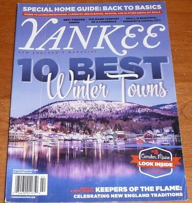 YANKEE New England's Magazine Jan Feb 2016   Best Winter Towns / Casseroles