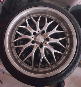 Speedy cheatah wheels 5x 114.3 ford pattern 19inch Shellharbour Shellharbour Area Preview