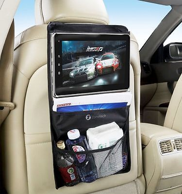 Zone Tech Car Back Seat - Headrest Storage Tablet Organizer Ipad Case Holder