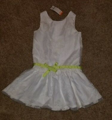 Spring Summer Easter Dress - Gymboree Lawn Party Girl Easter Dress Pageant Flower Spring Summer size 8 NWT