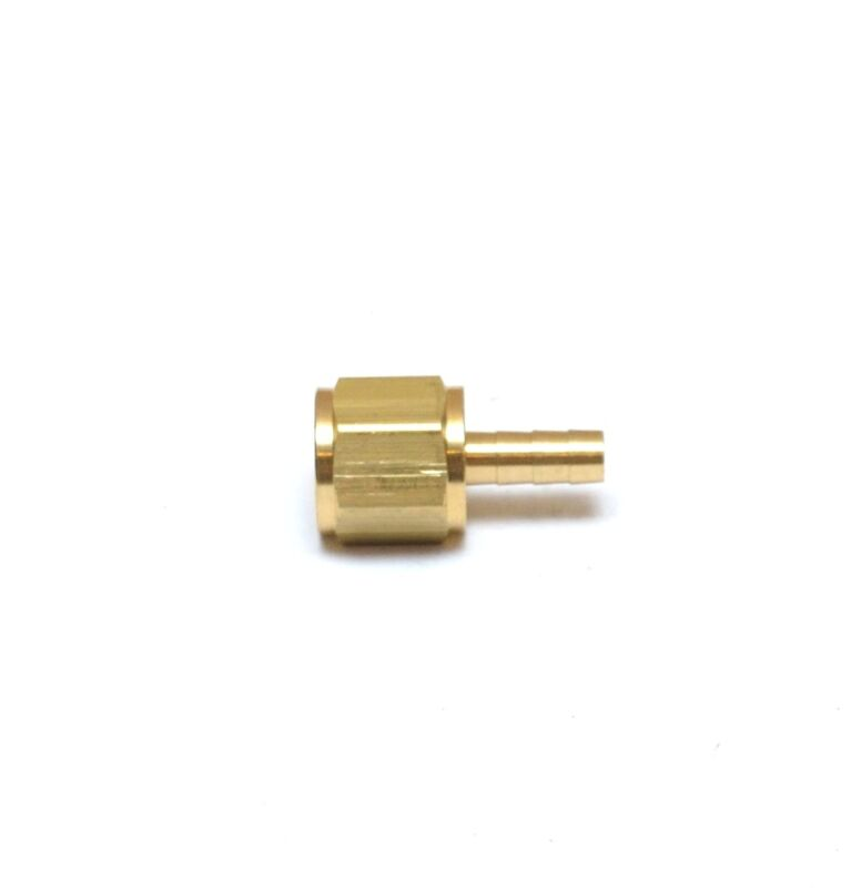 1/8 ID Barb 1/8 Female NPT Straight Hose End Fitting Brass Water Oil Air Gas