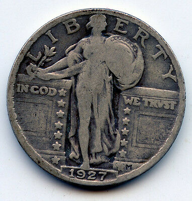 1927-P STANDING LIBERTY QUARTER SEE PROMO