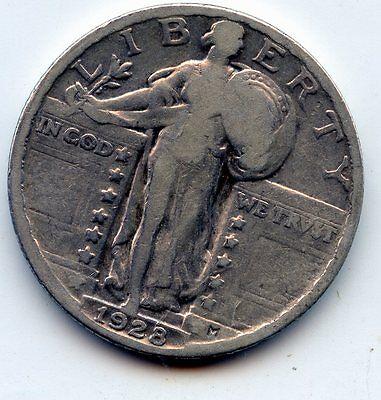 1928 P STANDING LIBERTY QUARTER SEE PROMO