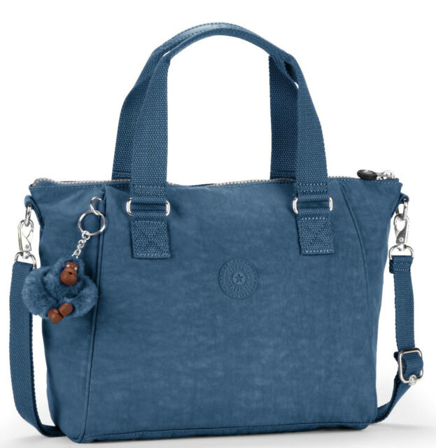 Kipling Amiel Medium Handbag In Jazzy Blue £59 BNWT