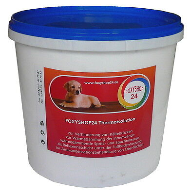 Klimafarbe - Thermoisolation - Innendämmung - Energiesparfarbe - Antischimmel
