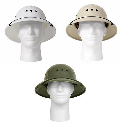Pith Vietnam Waterproof Military Style Helmet US MADE 5670 Rothco