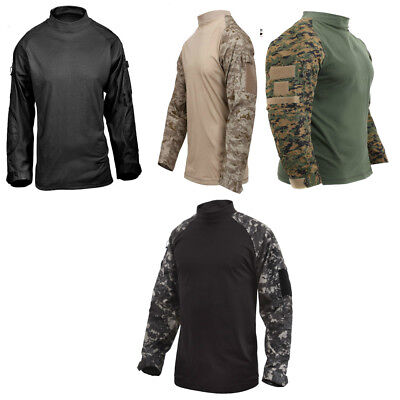 Long Sleeve Tactical Shirt (Tactical Airsoft Combat Long Sleeve Lightweight Shirt Rothco 45010 45020 )