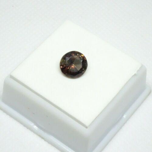 Stunning! 2.77ct Axinite - 9.5mm Round - Axinite Loose Gemstone