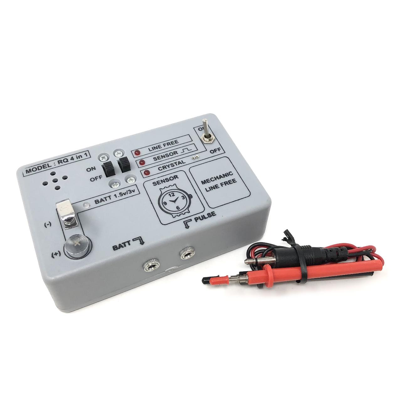 Quarz Uhr Tester 4 IN 1 Line Gratis / Freigabe,Puls,Kreislauf,Batterie Prüfung