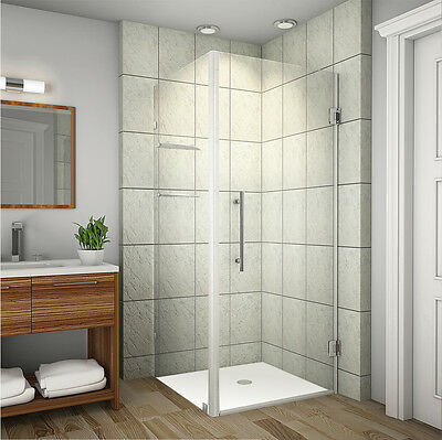 "ASTON Pandemic Aquadica GS 36"" x 36"" x 72"" Frameless Square Shower Enclosure"