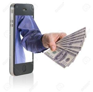J'achète iPhone et Lg Galaxy pour pièces