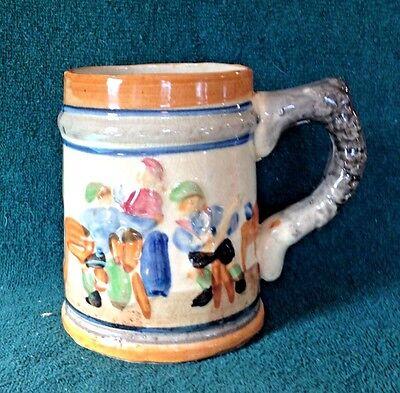 Vintage Ceramic German Style Beer Stein Mug Made in Japan