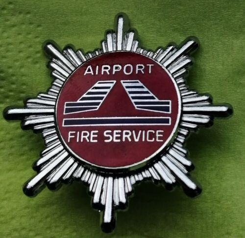 Airport Fire Services (Biggin Hill) Airport Fire Brigade Cap Badge