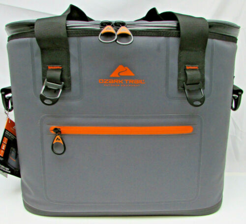 Ozark Trail, Premium Jumbo Tote, Gray 600D coated material, 36 Can capacity, NIB