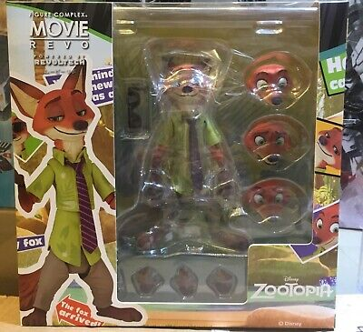 KAIYODO REVOLTECH Figure Complex Movie Revo Series Zootopia No.010 Nick Wilde