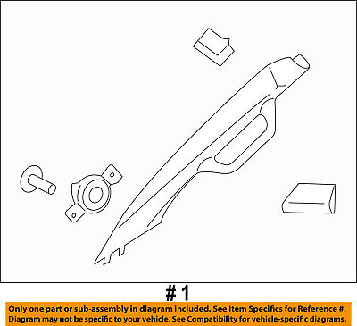 FORD OEM 17-18 F-350 Super Duty Exterior-Cab-Roof Molding Right HC3Z2651728AB