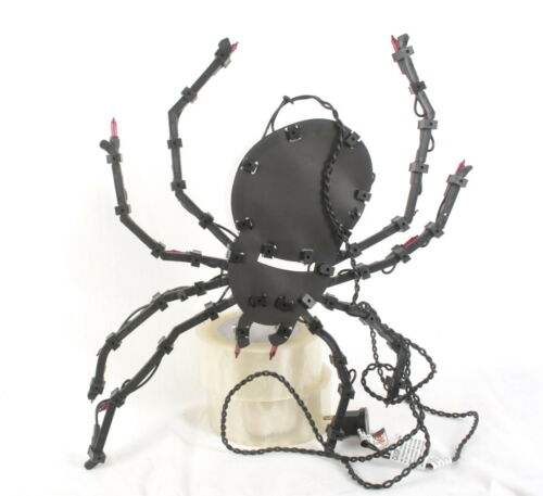 Lighted Spider Indoor/Outdoor Halloween Decoration, 13 x 15 Inches