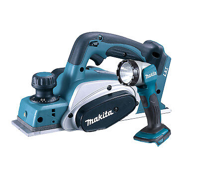 Makita DKP180 18v LXT 82mm Planer Lithium Ion Cordless + DML802 Torch