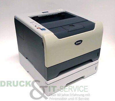 Brother Laserdrucker Hl5240 (Brother HL-5240 Laserdrucker sw inkl. Zusatzfach gebraucht)