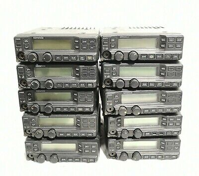 Lot Of 10 Kenwood Tk-790 Radio Dc 13.6v 12a Vhf Fm Transceiver Radio As Is