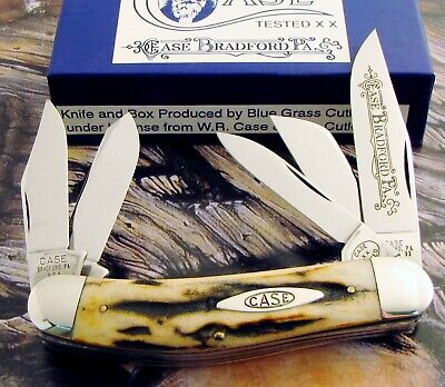 Case Classic Stag 5 Blade Sowbelly Knife 1993 Issue MEGA RARE 1 of 31! NR