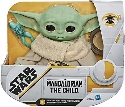 Star Wars The Mandalorian The Child Talking Plush Toy with Character Sounds