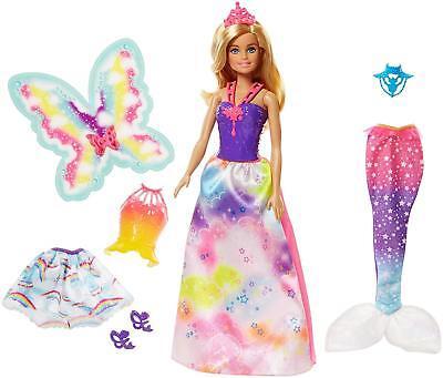 Barbie Dreamtopia Rainbow Cove Fairytale Gift Set Princess F