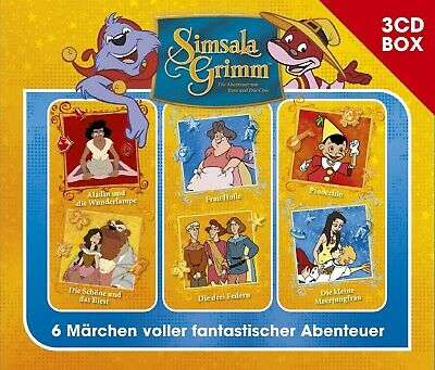 SIMSALAGRIMM - SIMSALAGRIMM 3-CD HÖRSPIELBOX VOL.4 3 CD NEW