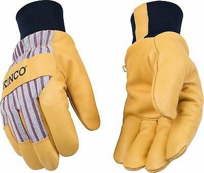 1 Pair Kinco 1927kw Lined Grain Pigskin Leather Glove With Knit Wrist X-large Xl