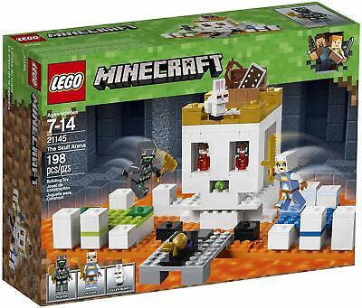 NEW LEGO Minecraft 21145 The Skull Arena