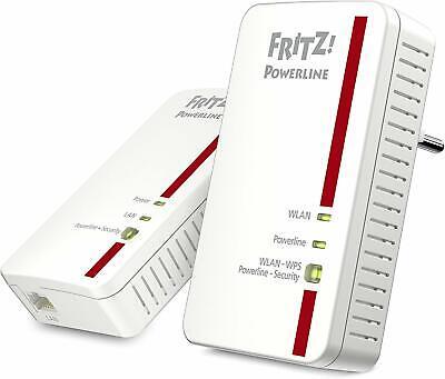 AVM Fritz! Powerline 1240e WLAN Set 1.200Mbit/S Wlan-Access-Point Plug & Jugar