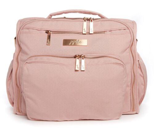 Ju Ju Be Chromatic BFF Baby Diaper Bag Backpack w Changing Pad Blush