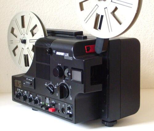 Super8 Film Projector Revue Lux 2 Sound Continuous Feineistellung D.Speeds