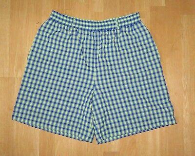 Karierte Damen-shorts (Damen Shorts kurze Hose Gr. 40 kariert grün blau Simclan City Damenshorts)