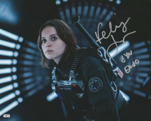 Felicity Jones ( Star Wars ) Rogue One Autographed Signed 8x10 Photo Reprint