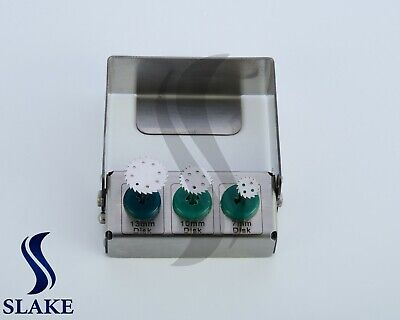 3 Pcs Dental Implant Saw Disk Cutting Tool 7.0mm 10mm 13mm Disk Latch Type Kit